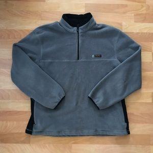Vintage 90s Nautica Competition Grey Fleece XL